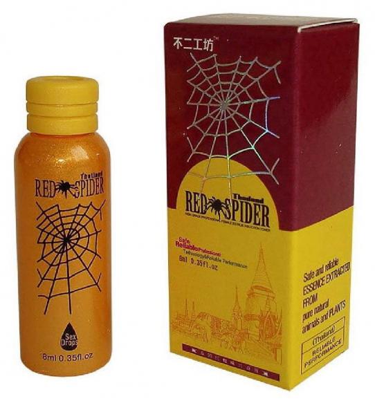 Thailand Red Spider возбуждающие капли для женщин, 8мл