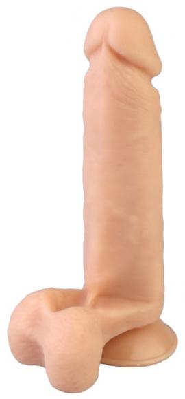 Вибромассажер с присоской, 19 см