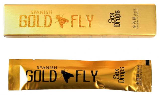 Возбуждающие капли Золотая Шпанская Мушка, 5мл