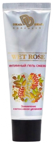 Заживляющая гель-смазка Wet Rose, 30 мл
